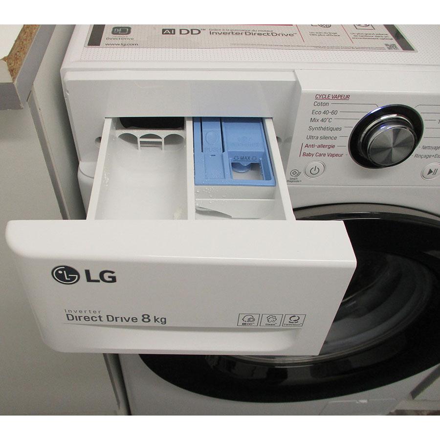 LG F84V35WHS - Compartiments à produits lessiviels