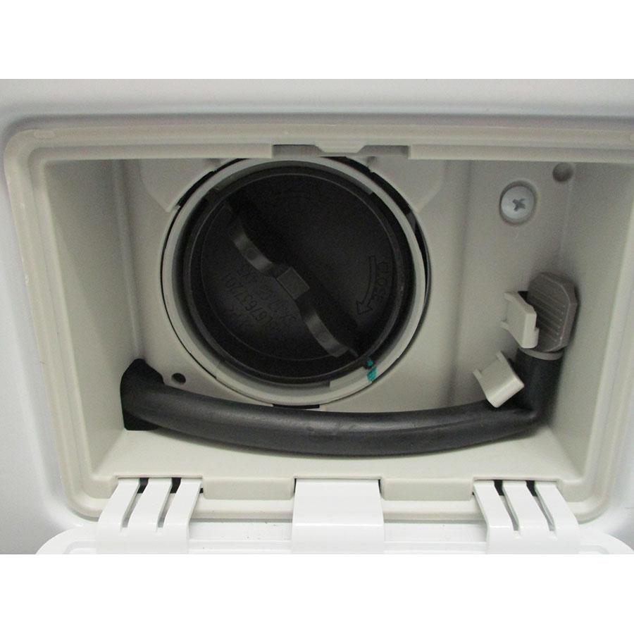 LG F84V35WHS - Bouchon du filtre de vidange
