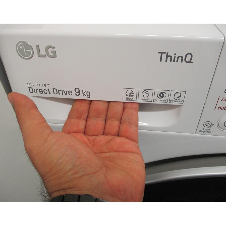LG F94V51WHS - Ouverture du tiroir à détergents