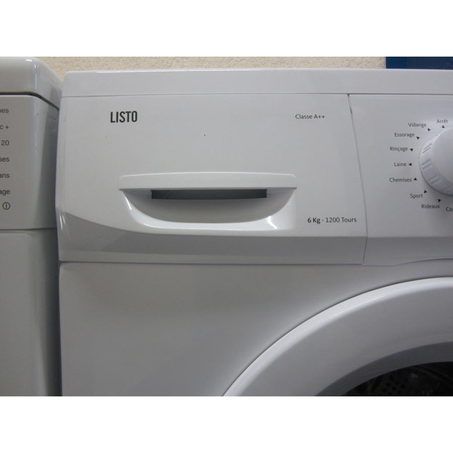 Test listo boulanger lf1206d3 lave linge ufc que choisir for Que choisir comme lave linge