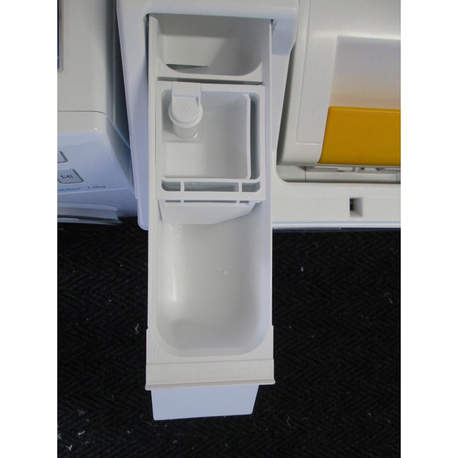 Miele W194 - Compartiments à produits lessiviels