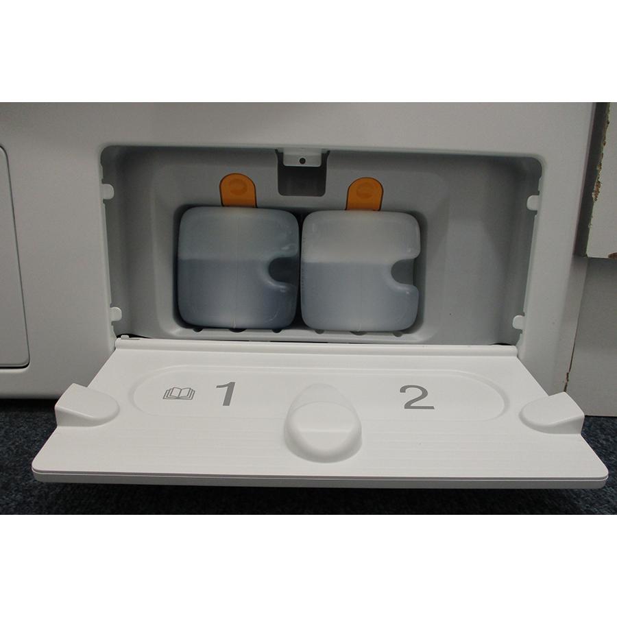 Miele WCG 660 - Distributeur de lessive liquide et adoucissant intégré