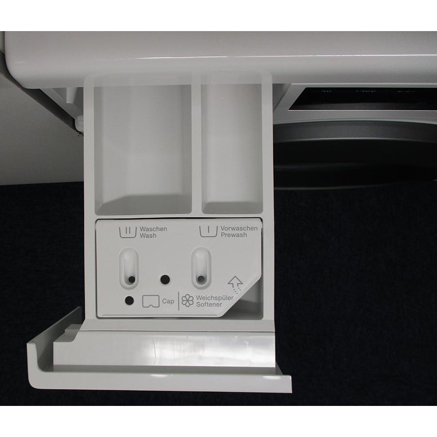 Miele WCG 660 - Compartiments à produits lessiviels