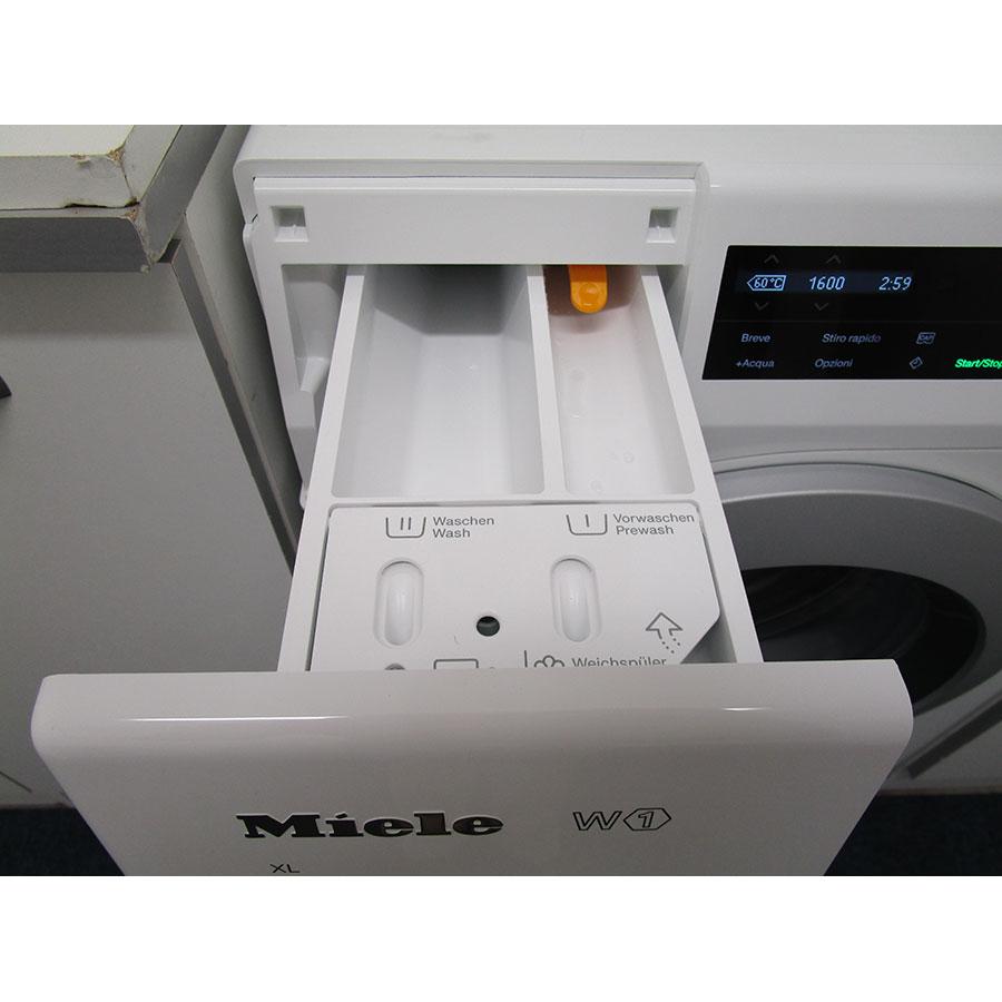Miele WCG130 - Compartiments à produits lessiviels