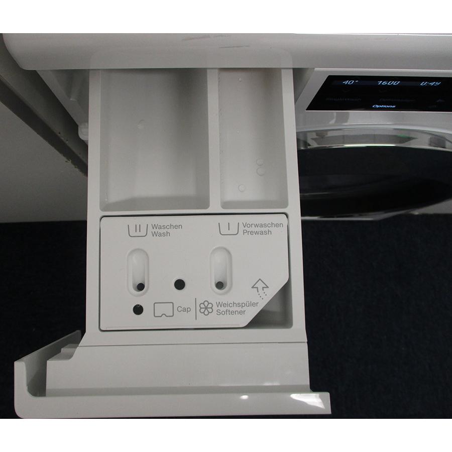 Miele WCI 960 WCS TwinDos - Compartiments à produits lessiviels
