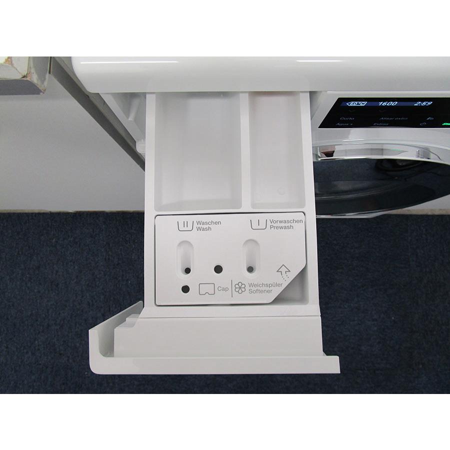 Miele WCI660 TDos XL&Wifi - Sérigraphie des compartiments