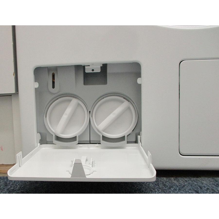Miele WCI860 - Bouchon du filtre de vidange