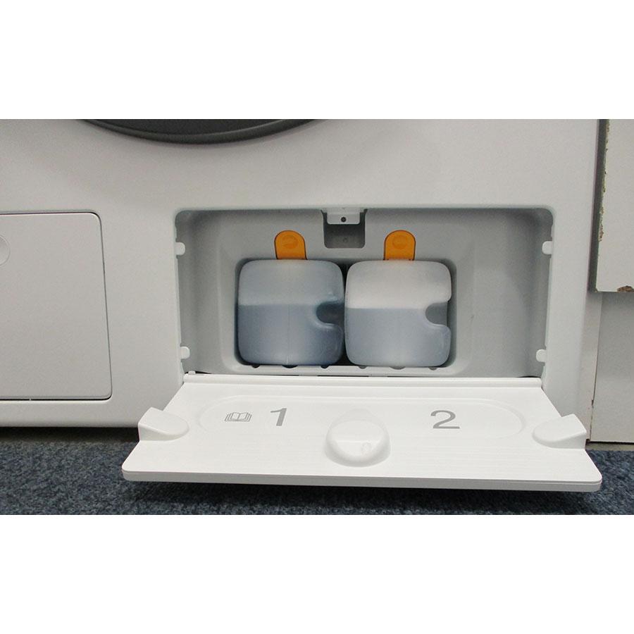 Miele WCI860 - Distributeur de lessive liquide et adoucissant intégré