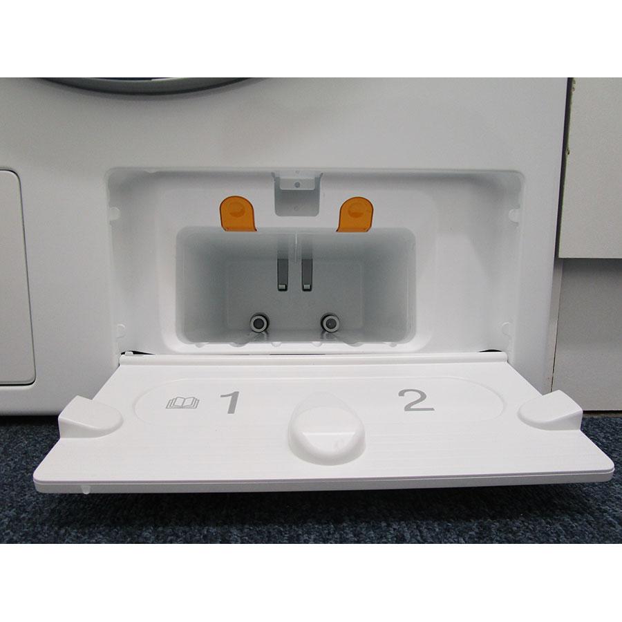 Miele WCR860WPS - Ouverture du distributeur de lessive