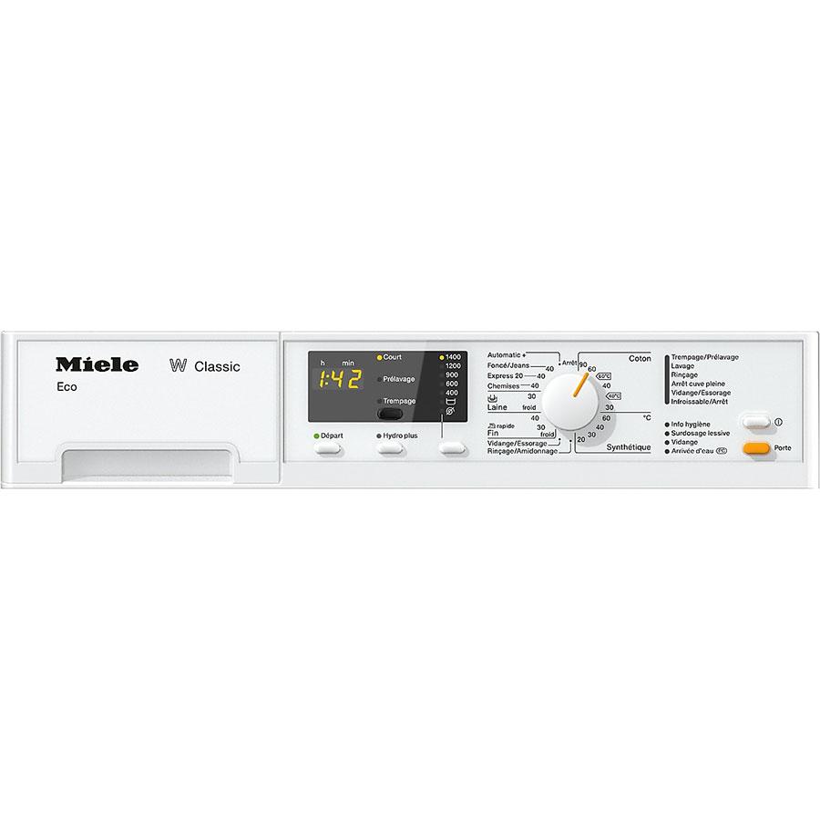Miele WDA101 - Panneau de commandes