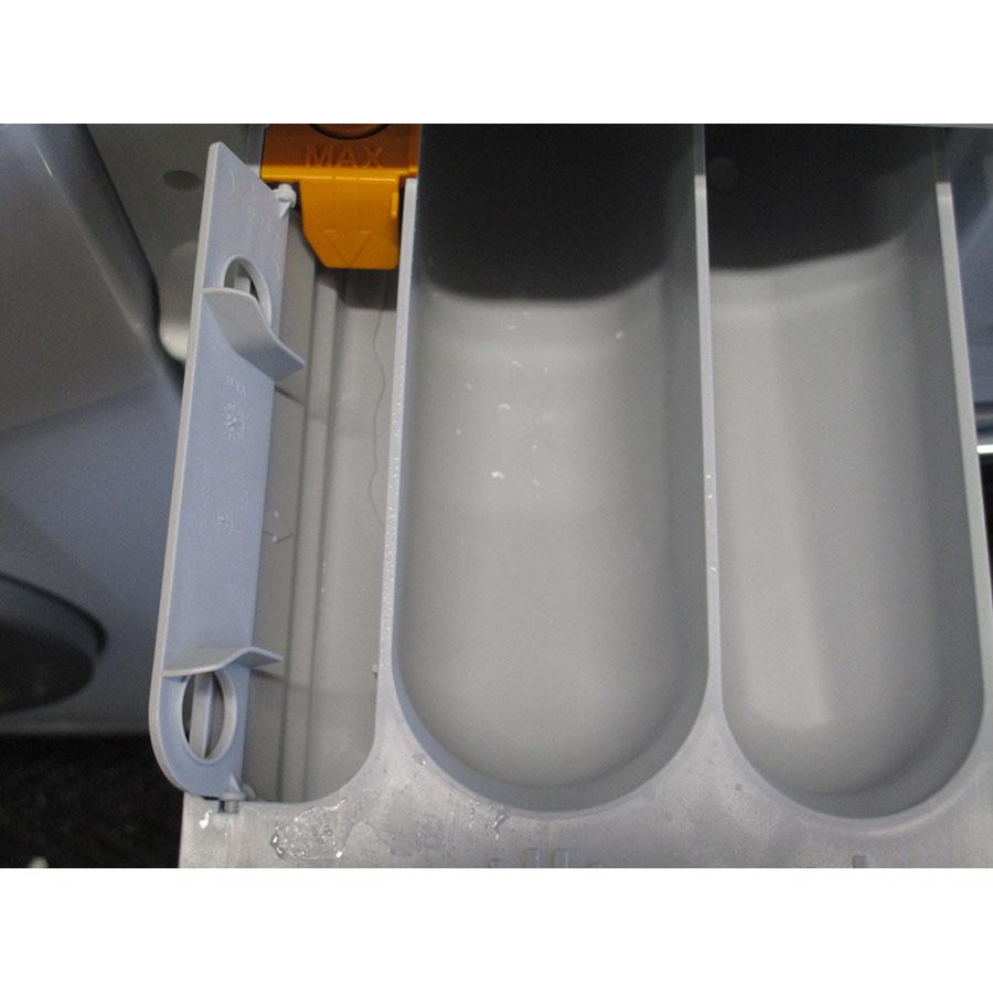 Miele WDA105 - Compartiment spécifique pour assouplissant