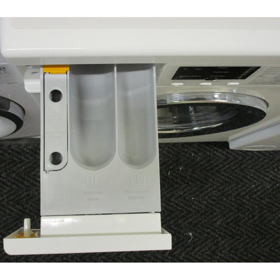Miele WDA200WPM - Compartiments à produits lessiviels