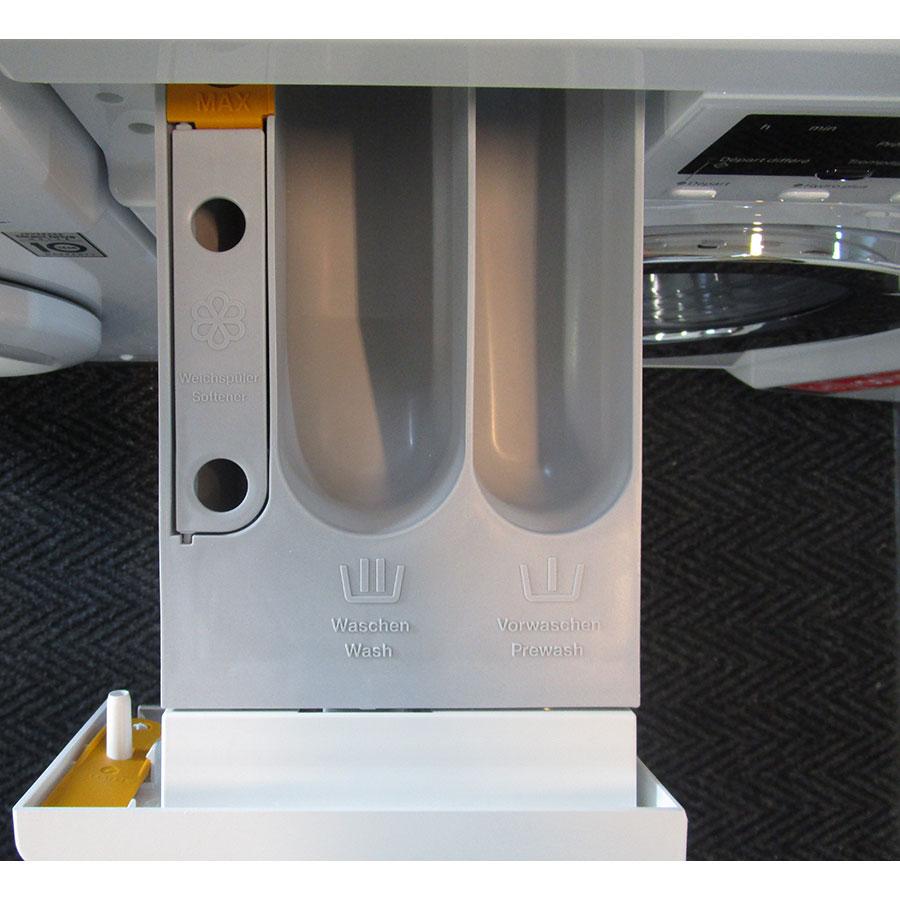 Miele WDA201 WPM - Compartiments à produits lessiviels