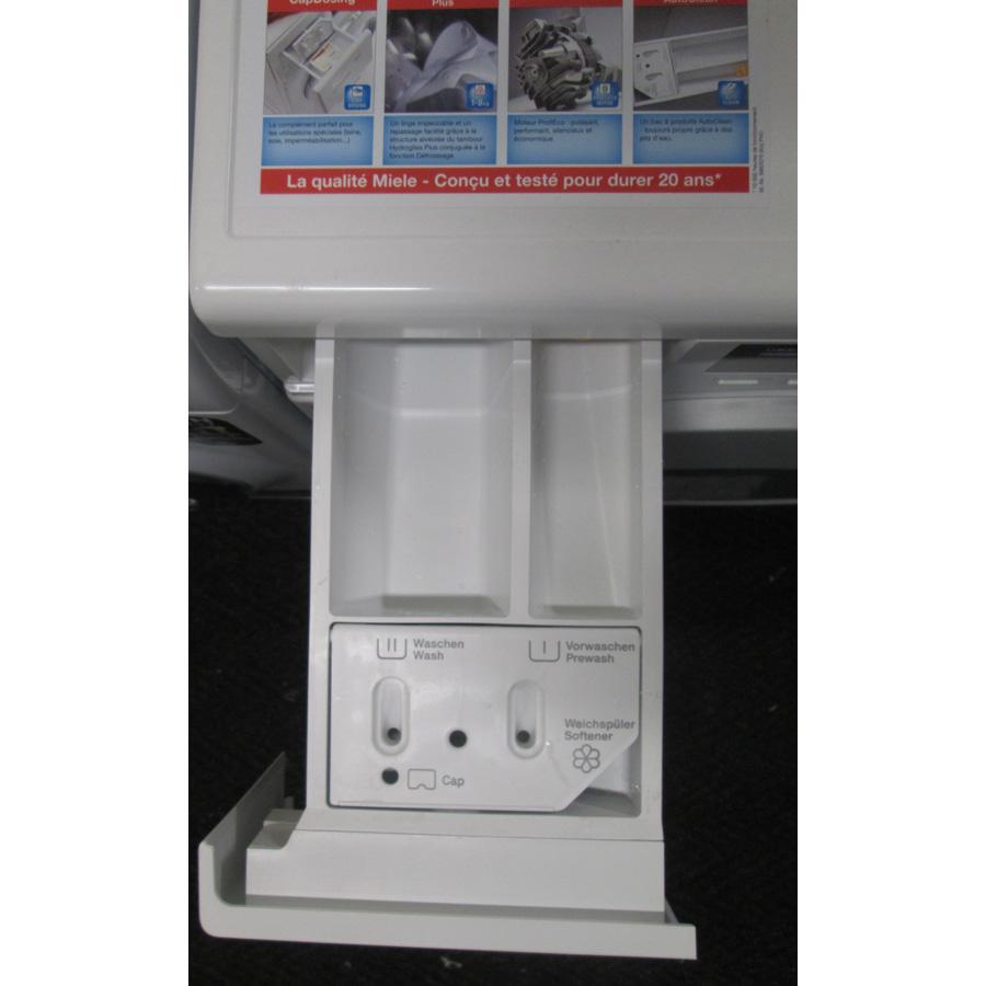 Miele WKB120 - Compartiments à produits lessiviels