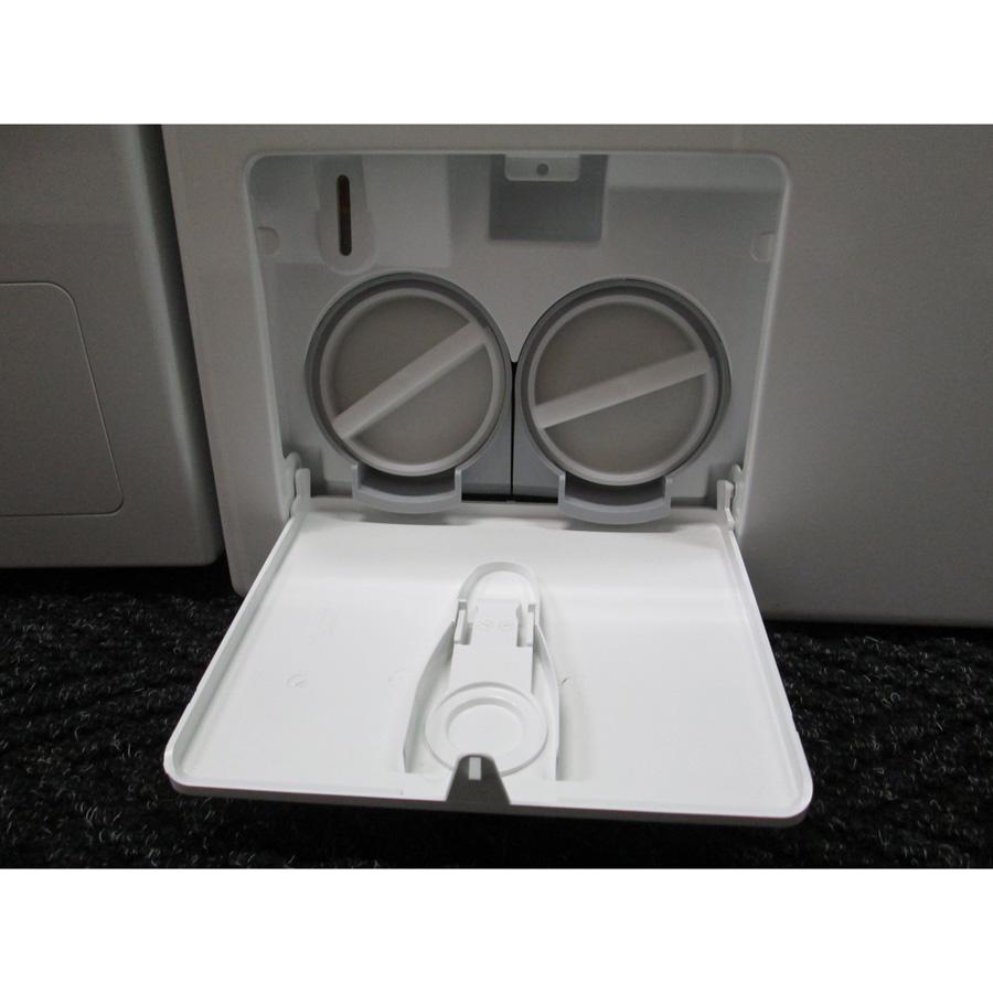 Miele WKF120 W1 ChromeEdition(*3*) - Bouchons des filtres de vidange