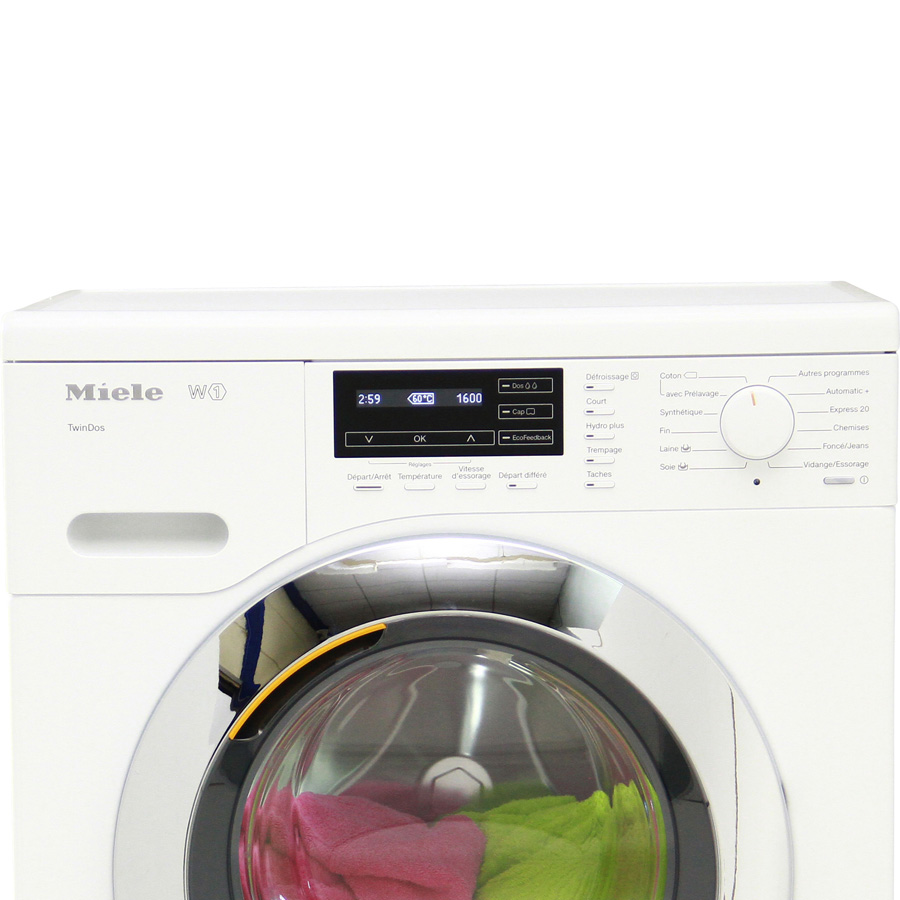 Miele WKG120 W1 ChromeEdition - Vue principale
