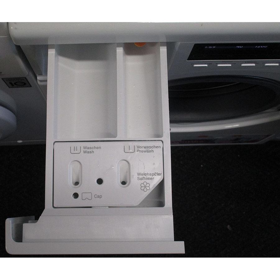 Miele WKH121 WPS W1 ChromeEdition - PowerWash 2.0 & TwinDos - Compartiments à produits lessiviels