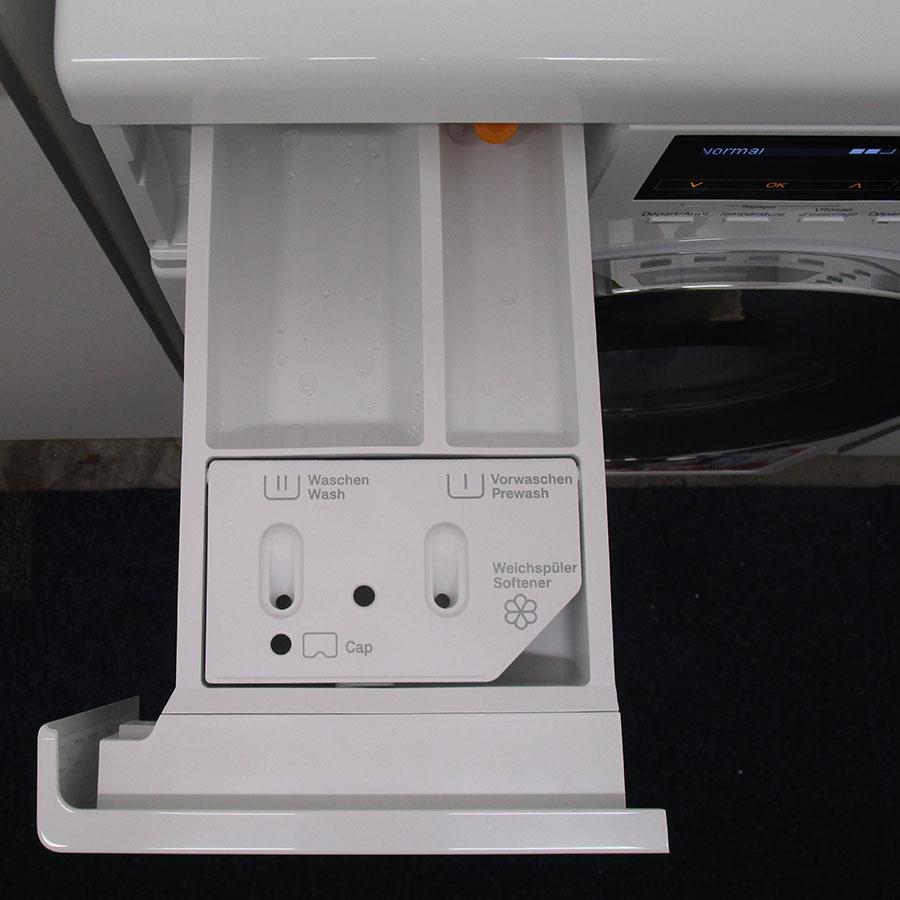 Miele WKH122WPS - Compartiments à produits lessiviels