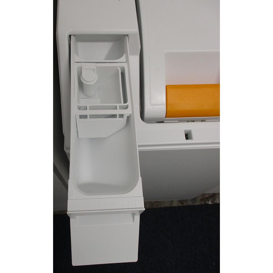 Miele WW 610 WCS - Compartiments à produits lessiviels