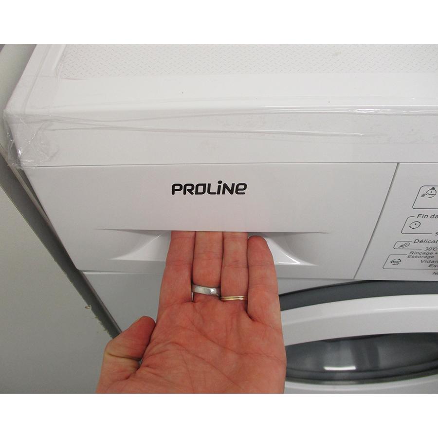 Proline (Darty) FP6120WH - Ouverture du tiroir à détergents