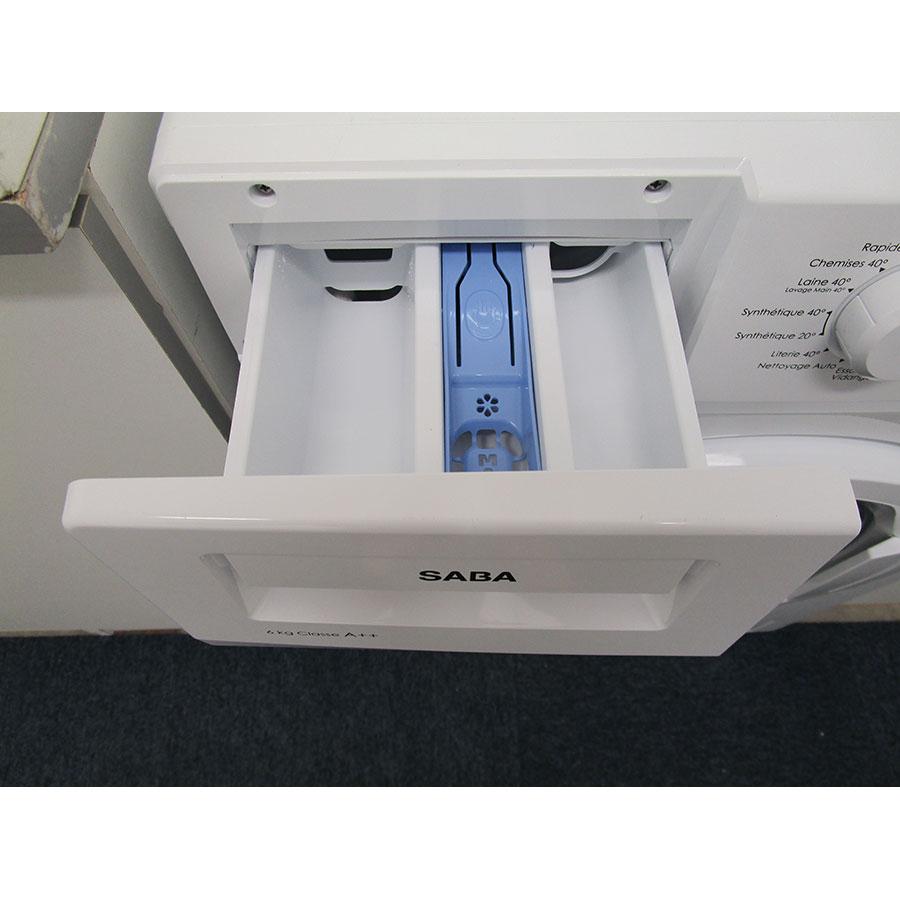 Saba (Conforama) LFS610BE17W - Compartiments à produits lessiviels