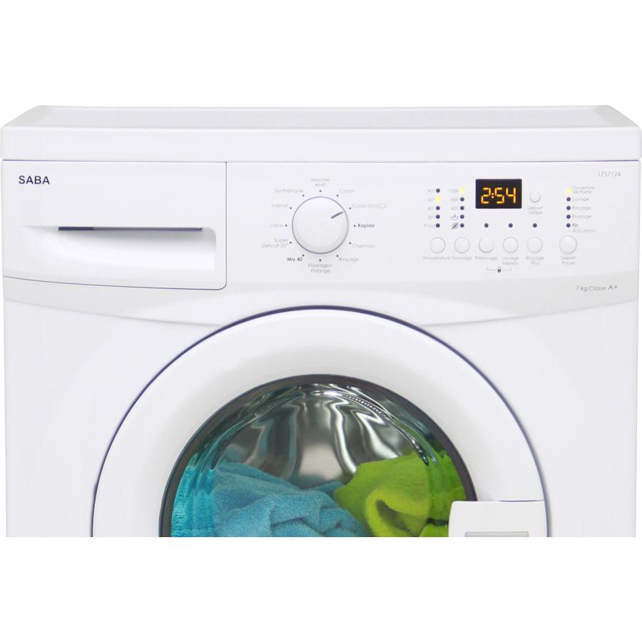 Test saba conforama lfs7124 lave linge ufc que choisir - Que choisir machine a laver ...