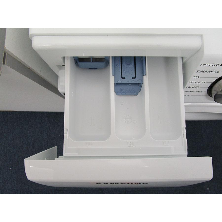 Samsung QuickDrive WW80M645OCW(*10*) - Sérigraphie des compartiments
