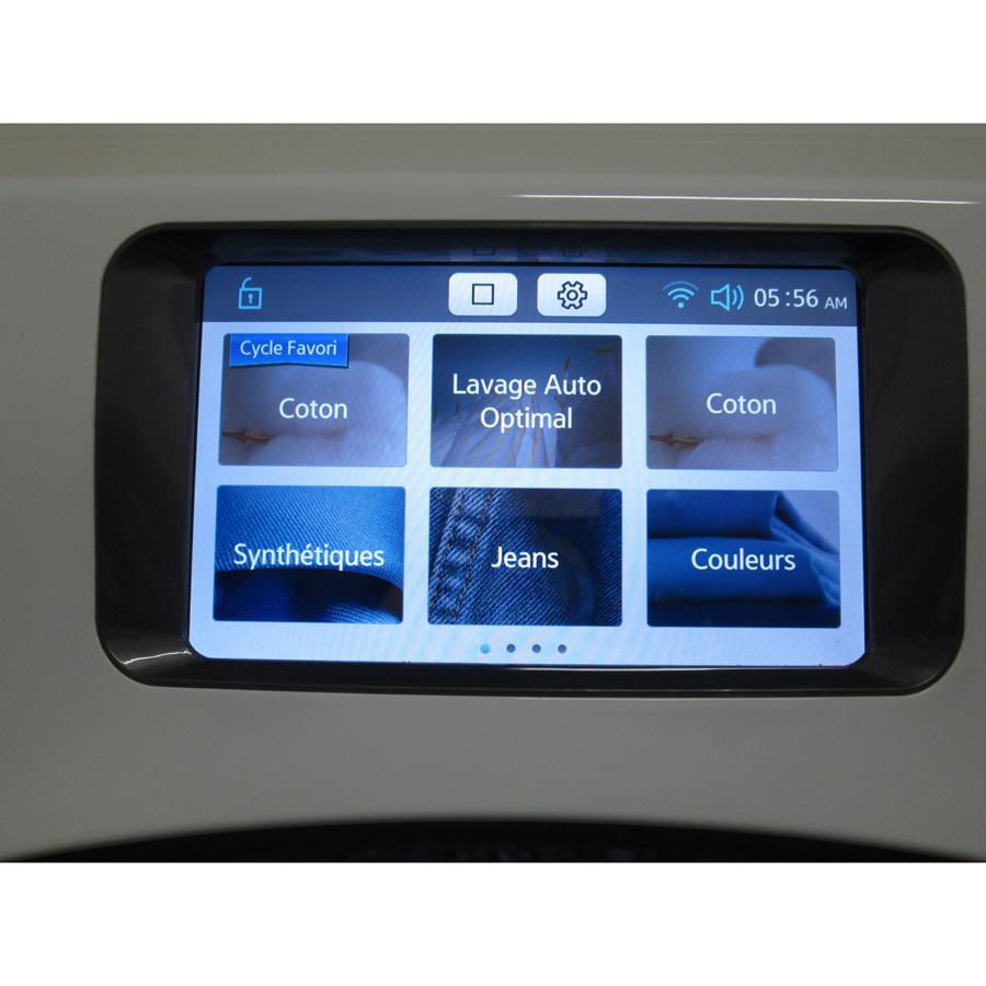 test samsung ww10h9400ew crystal blue ww9000 lave linge ufc que choisir. Black Bedroom Furniture Sets. Home Design Ideas