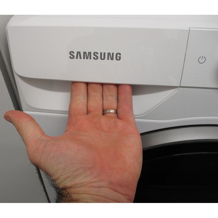 Samsung WW10T684DLH - Ouverture du tiroir à détergents