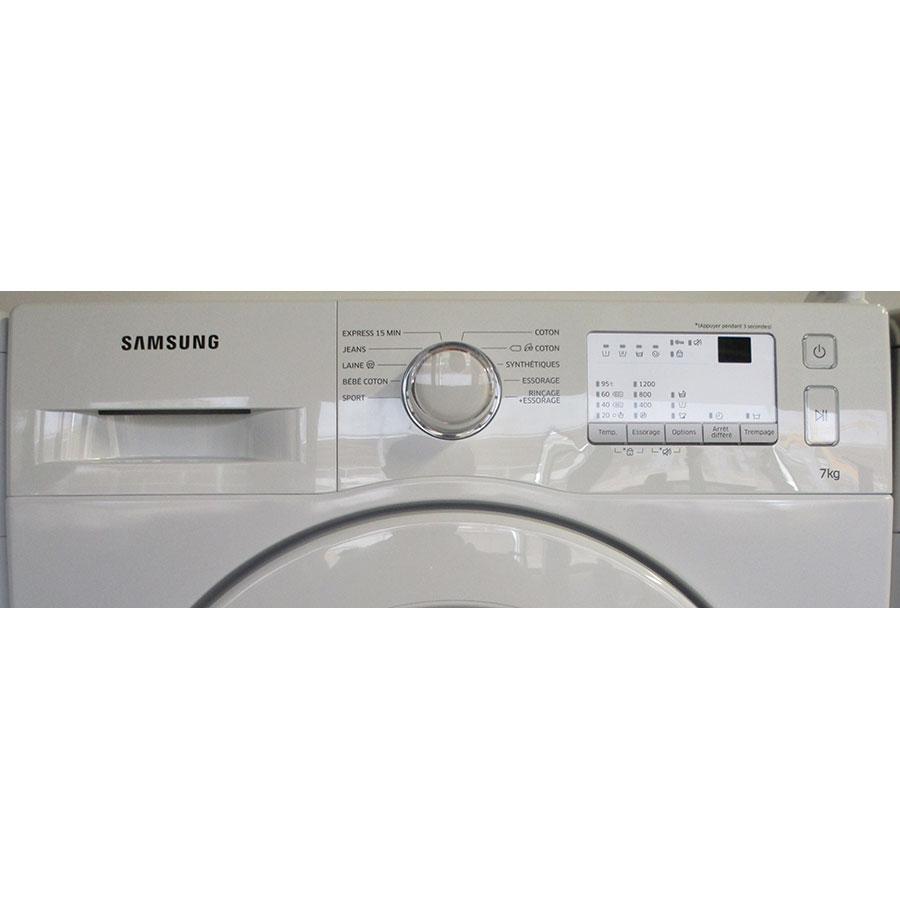 Samsung WW70J3283KW 1  - Panneau de commandes