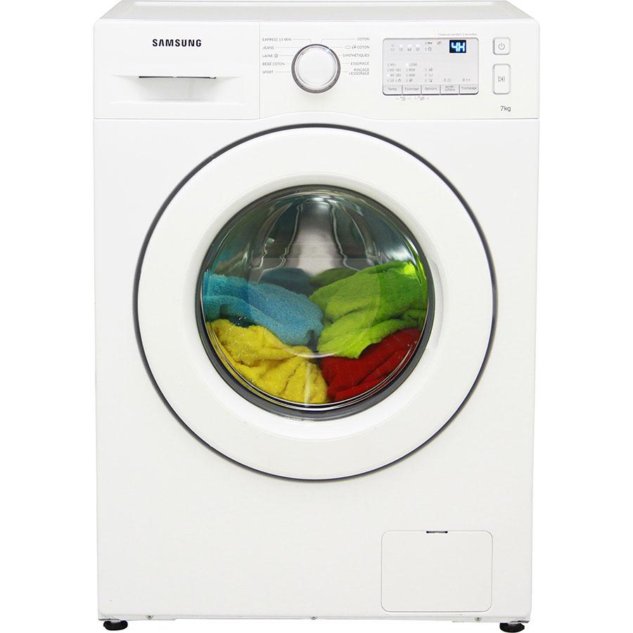 Test samsung ww70j3283kw 1 lave linge ufc que choisir for Lave linge que choisir