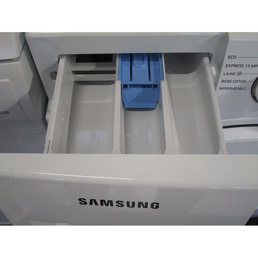 Samsung WW70J3467KW - Sérigraphie des compartiments