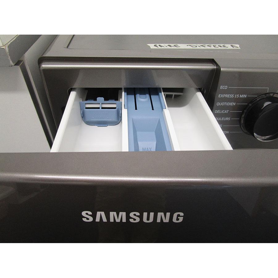 Samsung WW70J5556FX - Compartiments à produits lessiviels