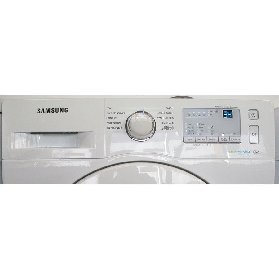 Samsung WW80J3267KW - Panneau de commandes
