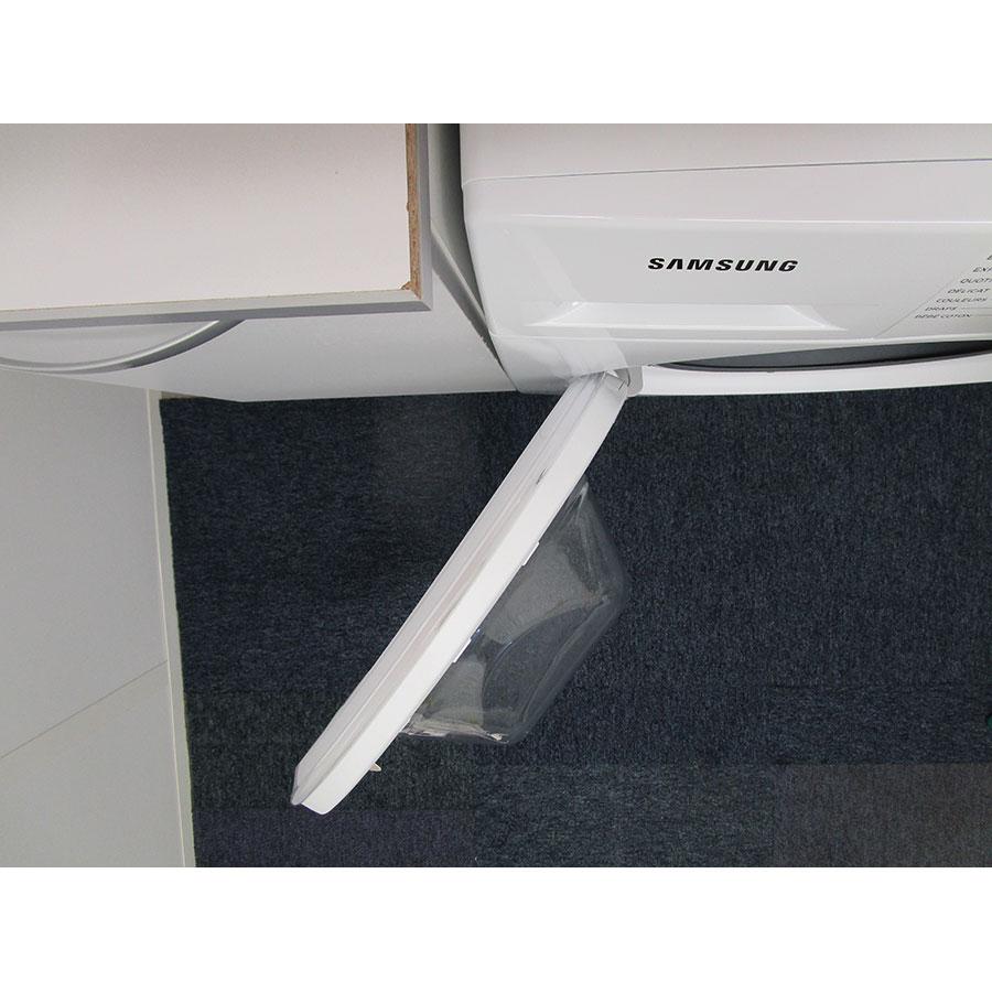 Samsung WW80J5555DW - Angle d'ouverture de la porte
