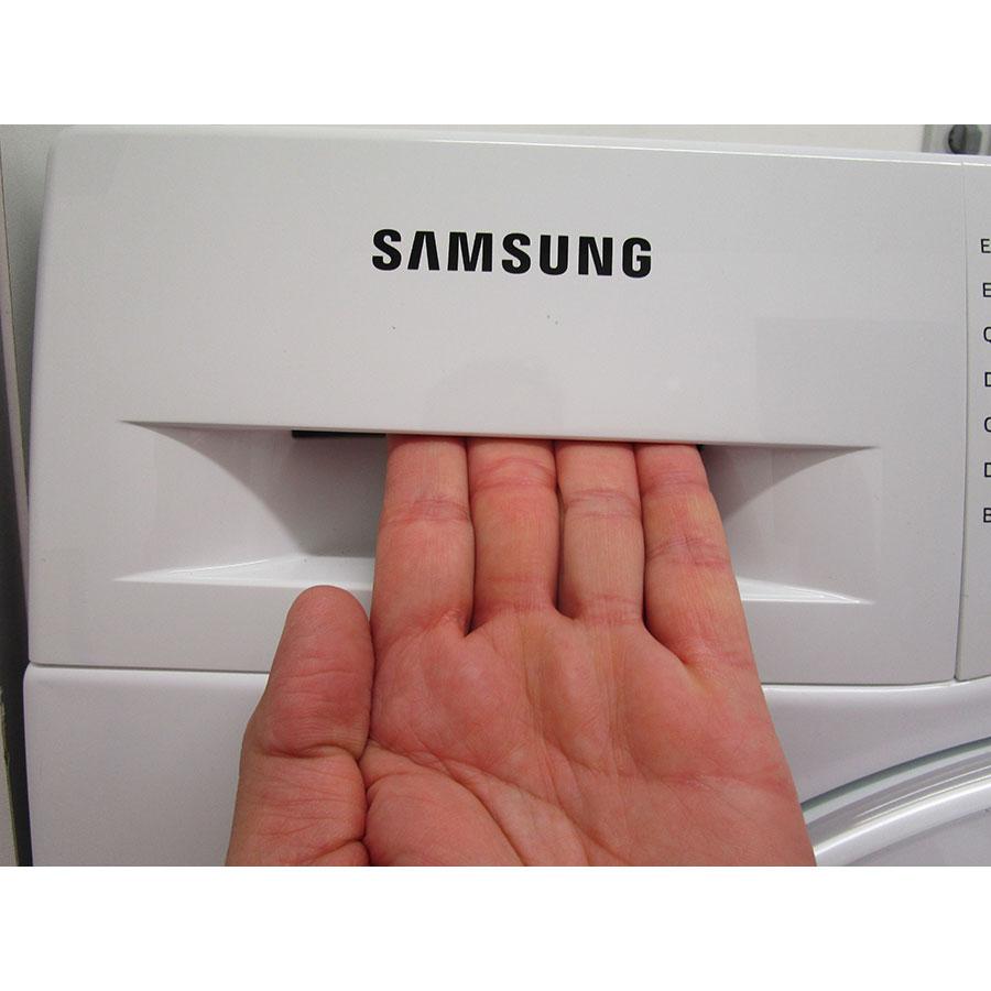 Samsung WW80J5555DW - Ouverture du tiroir à détergents