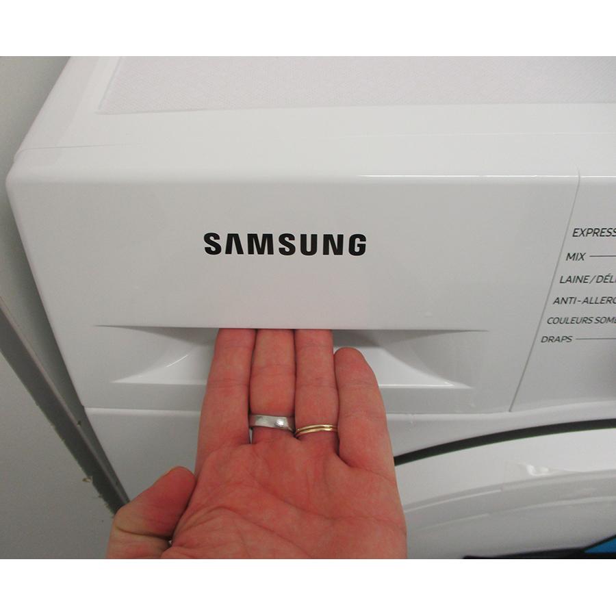Samsung WW80T4540TE - Ouverture du tiroir à détergents