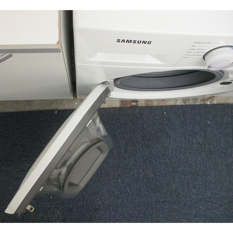 Samsung WW80T4540TE - Angle d'ouverture de la porte