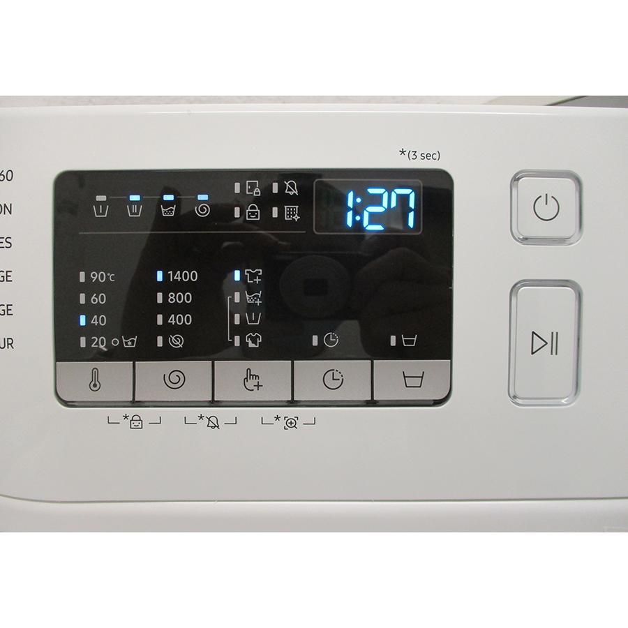 Samsung WW80T4540TE - Panneau de commandes