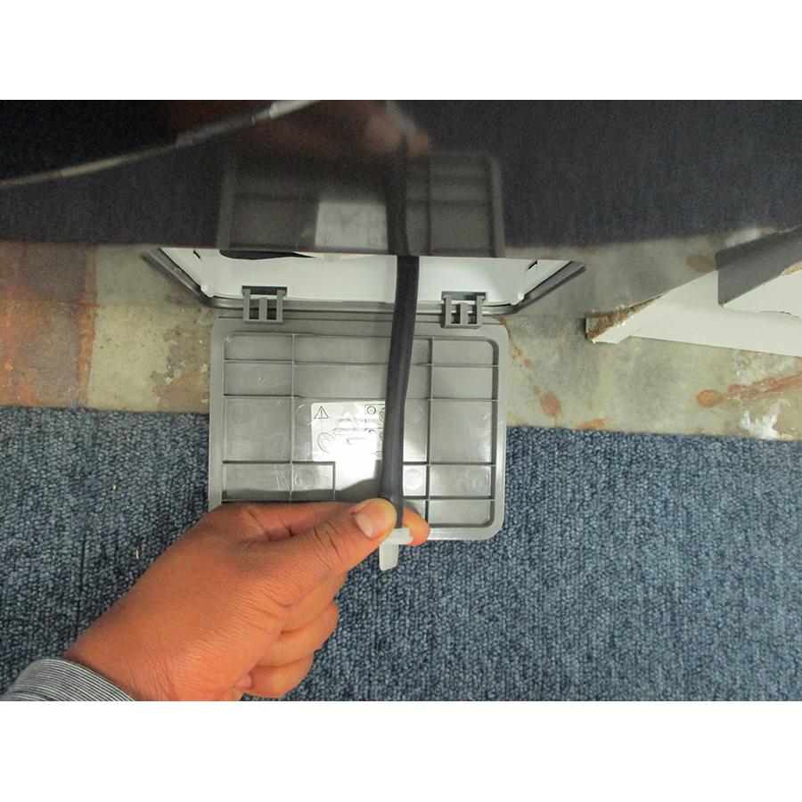 Samsung WW80TA026AX - Tuyau d'évacuation de l'eau résiduelle