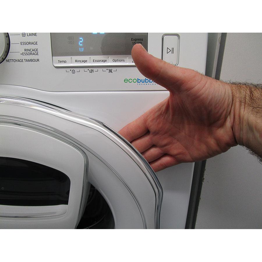 Samsung WW8EK6415SW Add wash - Poignée d'ouverture du hublot