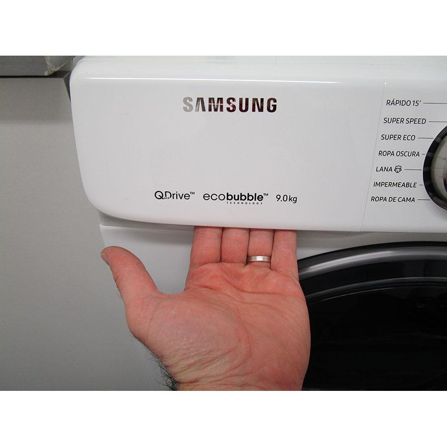Samsung WW90M645OPW - Ouverture du tiroir à détergents