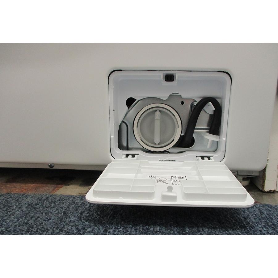 Samsung WW90TA026AE - Bouchon du filtre de vidange