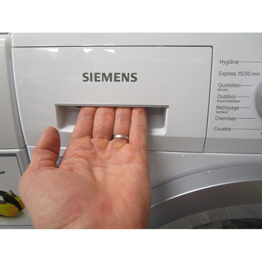 test siemens wm12n260ff iq300 lave linge ufc que choisir. Black Bedroom Furniture Sets. Home Design Ideas