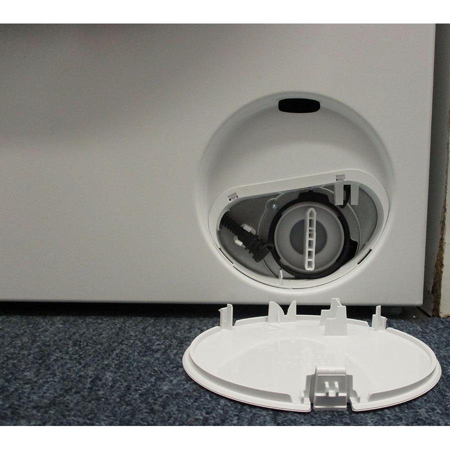 Siemens WM14N107FF - Bouchon du filtre de vidange