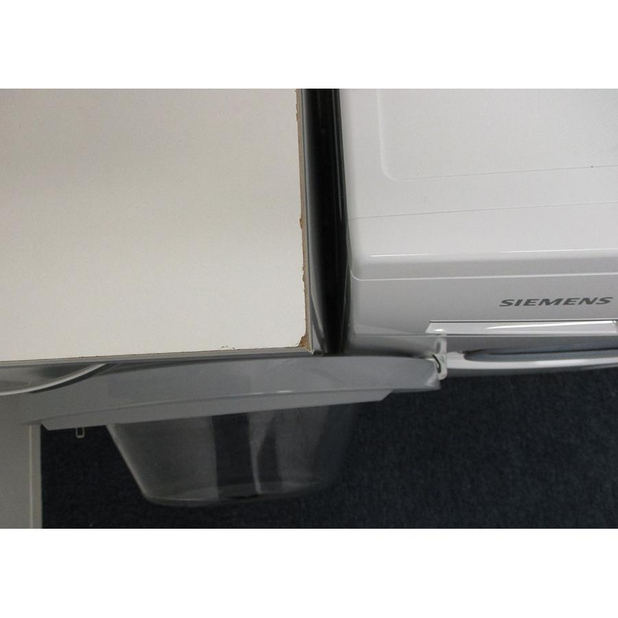 Siemens WM14N107FF - Angle d'ouverture de la porte