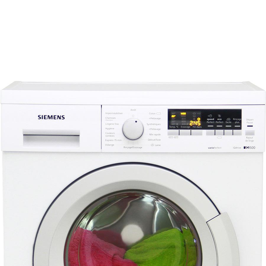 Siemens WM14Q472FF iQ500 (*12*) - Vue principale