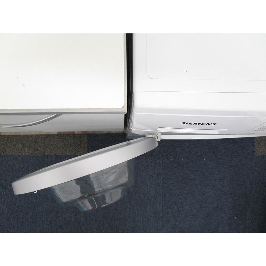 Siemens WM14T419FF - Angle d'ouverture de la porte
