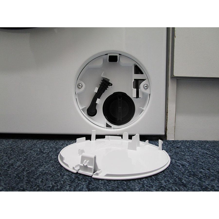 Siemens WM14T458FF - Bouchon du filtre de vidange