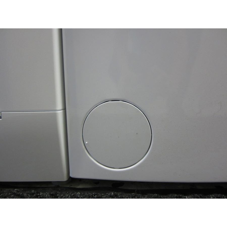 Siemens WP12R155FF iQ100 (*24*) - Trappe du filtre de vidange